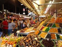 La Bouqeria i Barcelona