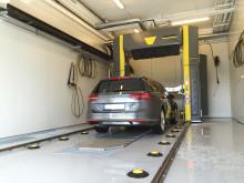 Kärcher Bilvaskeportal hos Møller Bil