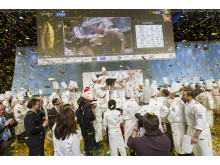 Tommy Myllymäki from Sweden won the Bocuse d'Or Europe 2014