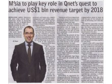 QNET on Borneo Post (Kuching)