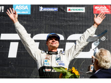 Fredrik Ekblom segrade i det första STCC-racet