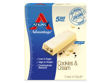 Atkins ADV Cookies&Cream 5 bar pack