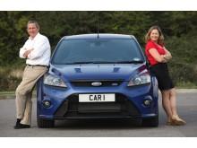 """Ford Focus RS in den brittiska tävlingen """"MPG-Marathon"""""""