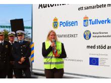 Infrastrukturministern inviger alkobom i Göteborg 2013-08-20