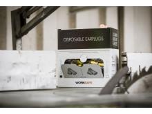 Worksafe hörselproppar EcoDamp och ProDamp