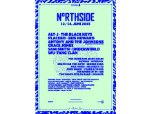 Den officielle NorthSide 2015 plakat