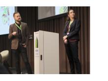 Anna Hessle och Jonas Jernberg från Sweco