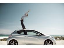 Peugeot 208 har indtaget Danmark