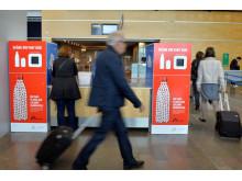 Pant från flygplatser går till Läkare Utan Gränser