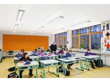 Nytt akustiksystem ger bättre ljud i klassrummet
