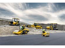 Volvo Construction Equpment - asfaltläggare, vältar och väghyvlar