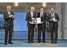 Press Image: 2012 Nobel Peace Prize Award Ceremony, Oslo, Norway