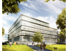 Danderyds sjukhus - ny akutvårdsbyggnad - exteriör