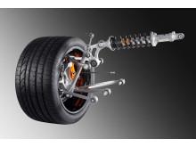 Chassifjädrar till Lamborghini Aventador