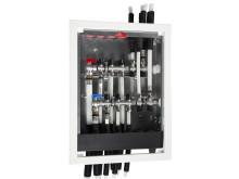 Multi Fördelarskåp - komplett, vattentätt skåp för tappvatteninstallationer