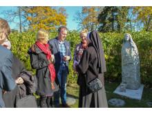 Juryn för Birgittapriset träffas i Birgittalunden 2014