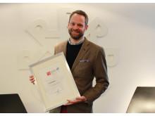 GPTW 2015 HR-direktør i Reitan Convenience Petter Knutsen