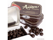 Ren lakrits med chokladöverdrag från Amarelli i Italien