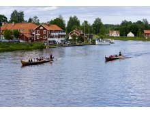 Kyrkbåtsrodd i Torsång
