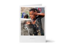 Gåvobevis 130 kr - rent-vatten-kit för en familj under en månad
