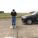 AEB 'cyclist' testing with the Volvo XC90