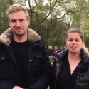 Taler på Mynewsday 2015: David Engstrøm og Camilla Wilfert fra Telia