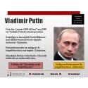 Carl Bildt får nytt informationsmaterial om Putins ansvar för krigsförbrytelser
