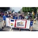 Uddevalla kommun deltar på HBTQ festivalen