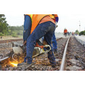 Abrasive solutions for rail maintenance and repair