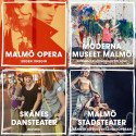 Kulturinstitutionerna flyttar hem till Malmöfestivalen!