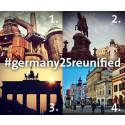 Fototävling på Instagram: 25 år efter Berlinmurens fall