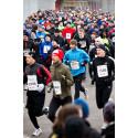 4000 löpare på racingbana