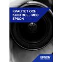 Kvalitet och kontroll med Epson