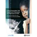 WaterAid stödjer ny global handlingsplan av WHO och UNICEF - Miljontals barns liv kan räddas genom satsningar på lunginflammation och diarrésjukdomar