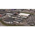 Auson huvudkontor och fabrik i Kungsbacka