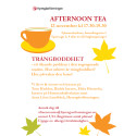 Afternoon Tea 12 november 2015