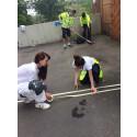 Drygt 230 barn och ungdomar aktiveras i Gårdsten under sommaren
