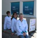 Tre farmacevter i Apoteksgruppen öppnar nytt apotek i Bua!