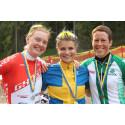 Jenny Rissveds och Calle Friberg svenska mästare i MTB (XCO)