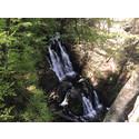 Utsiktsplattform ger nya vyer av Forsakars vattenfall