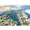 Nyhamnen blir en tät, grön och urban stadsdel