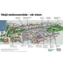 Visionen om Växjö stationsområde