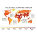 Fler länder än tidigare kränker mänskliga rättigheter i arbetslivet