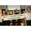 Vara är Årets Nyföretagarkommun i Sverige 2011