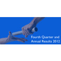 Fourth Quarter and Annual Results 2012