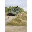 Køretøj i brug hos det svenske forsvar