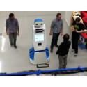 Örebroforskning gör att robot nu ska visa vägen på storflygplats