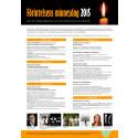 Programaffisch Förintelsens minnesdag 2015