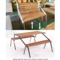 The Benefits of Stainless Steel Teak Furniture