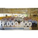 Dacia Duster runder en million eksemplarer på fire år